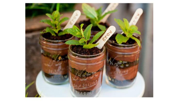 Dirt Cake Mason Jar