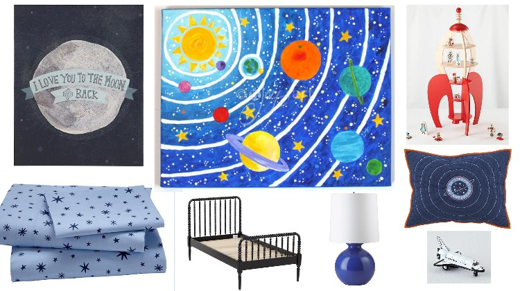 Space Kids Room