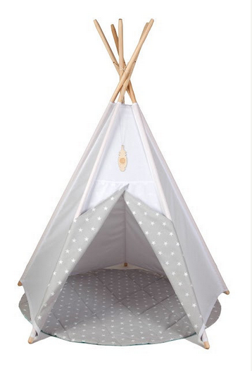 Teepee Ideas For Kids Room from RusticBabyChic.com