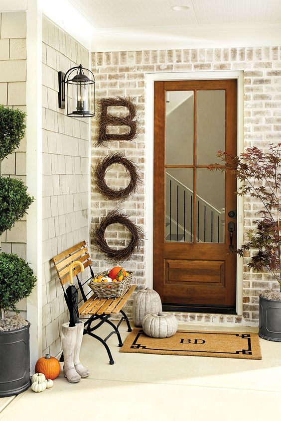 Fall Front Door Decoration Ideas ...