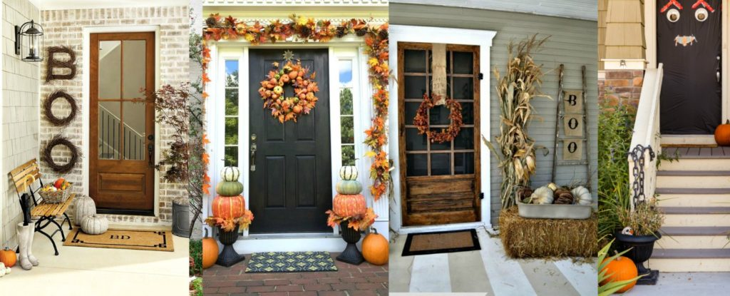 Fall Front Door Decoration Ideas
