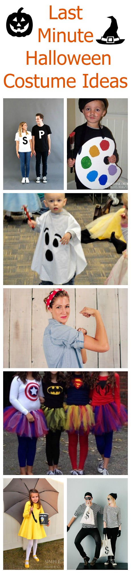 Quick halloween costumes you can make at home rustic for Quick halloween costumes for toddlers