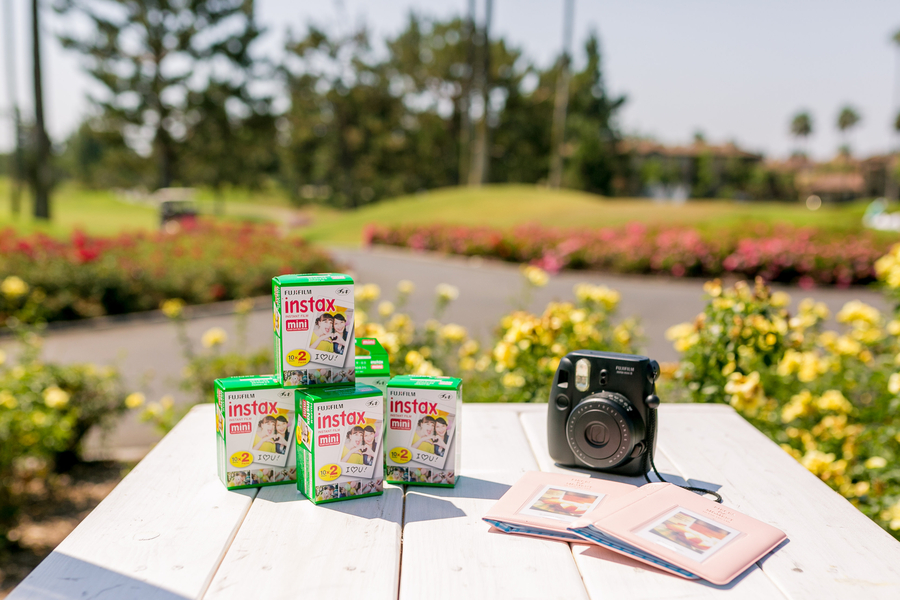 FujiFilm Instant Camera At Baby Shower